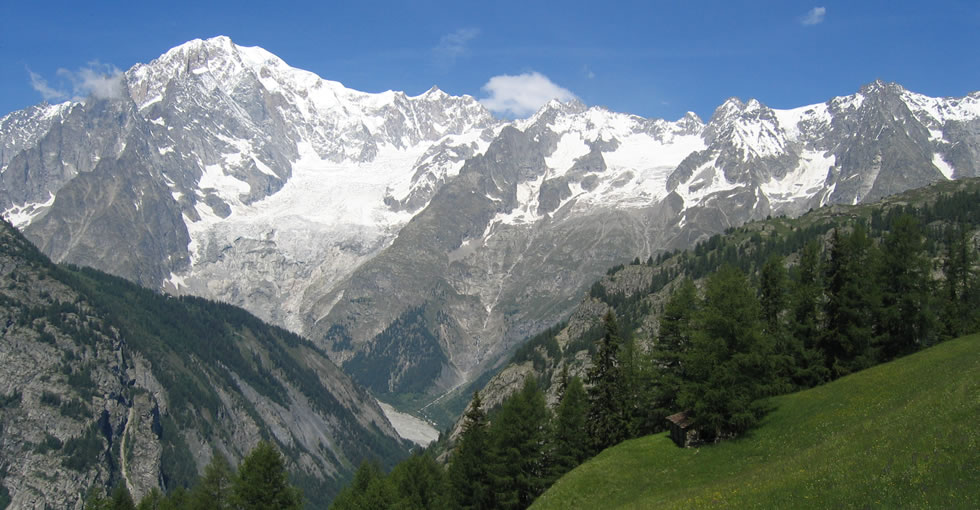 Il territorio di Courmayeur - estate